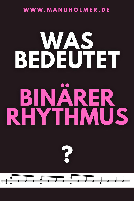 Was ist ein binärer Rhythmus?