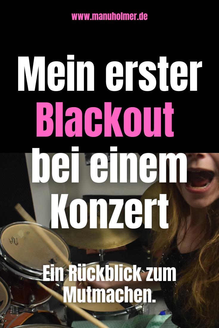 Mein erster Blackout bei einem Konzert