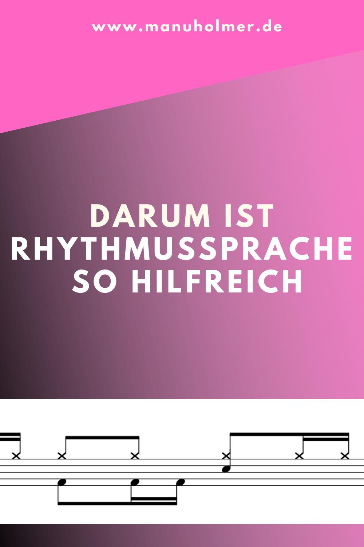 Warum Rhythmussprache? Darum!