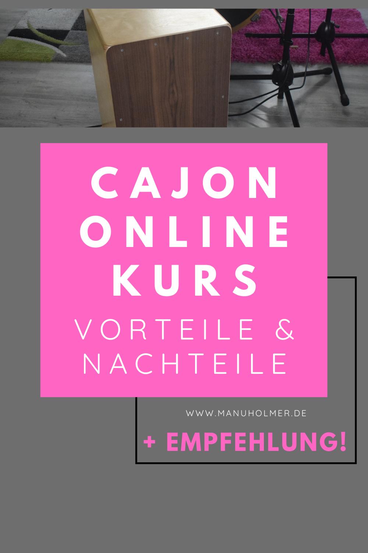 Cajon Online Kurs: Vorteile, Nachteile & Empfehlung