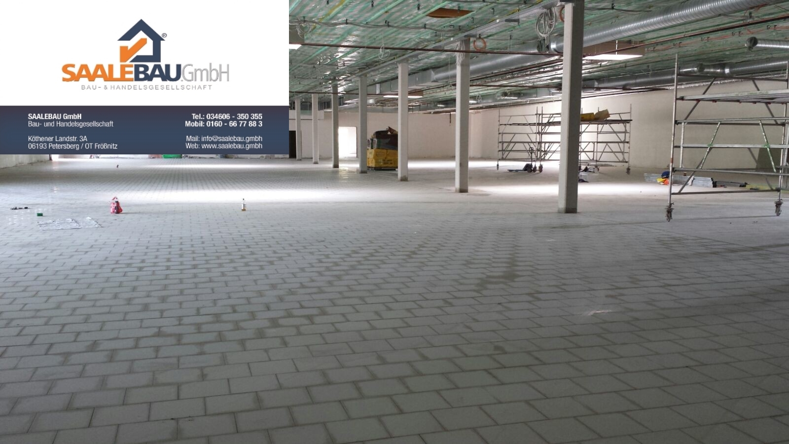 Rüttelboden Rüttelböden Industrieboden Industrieböden Keramikboden SAALEBAU GmbH