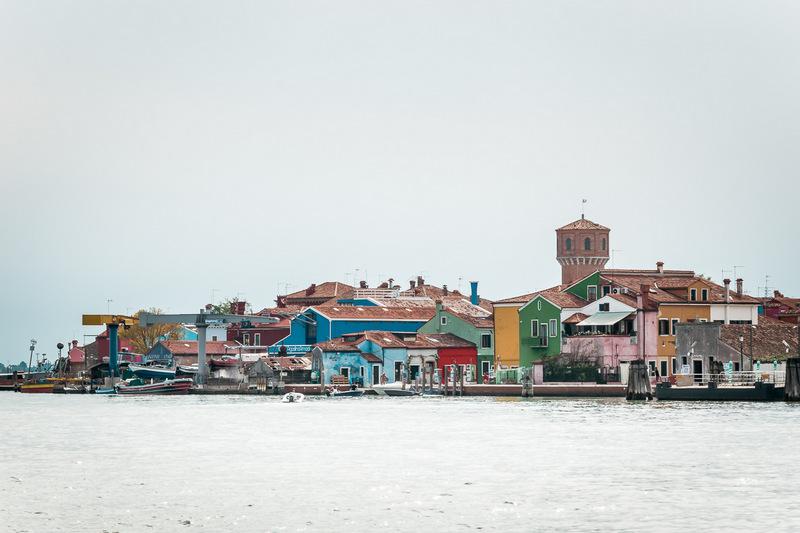 Burano, Venedig, Venezia, Italien, Lagune