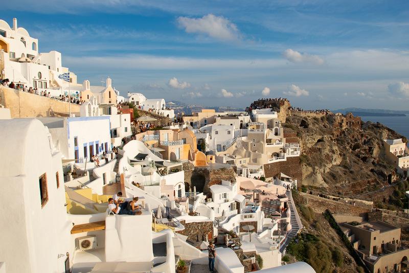Oia, Santorini, Kykladen, Griechenland, Ägäis