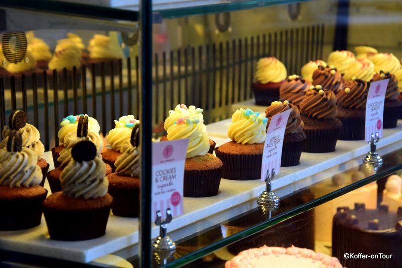 Peggy Porschen, Bäckerei, Tee, Teeshop, Muffins, Torten, Kuchen, Brownies, Leckereien