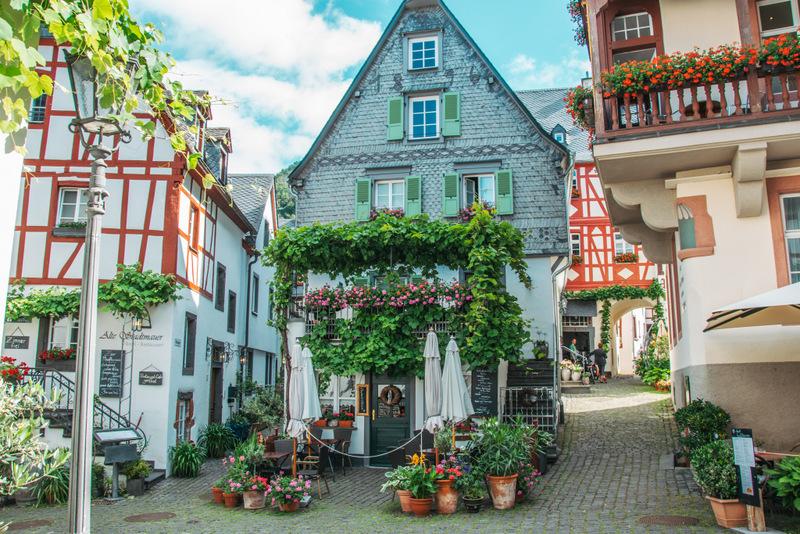 Beilstein, Mosel, schönster Ort an der Mosel, Rheinland Pfalz, Deutschland, Urlaub