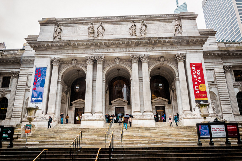 New York Public Library, Bücherei, New York