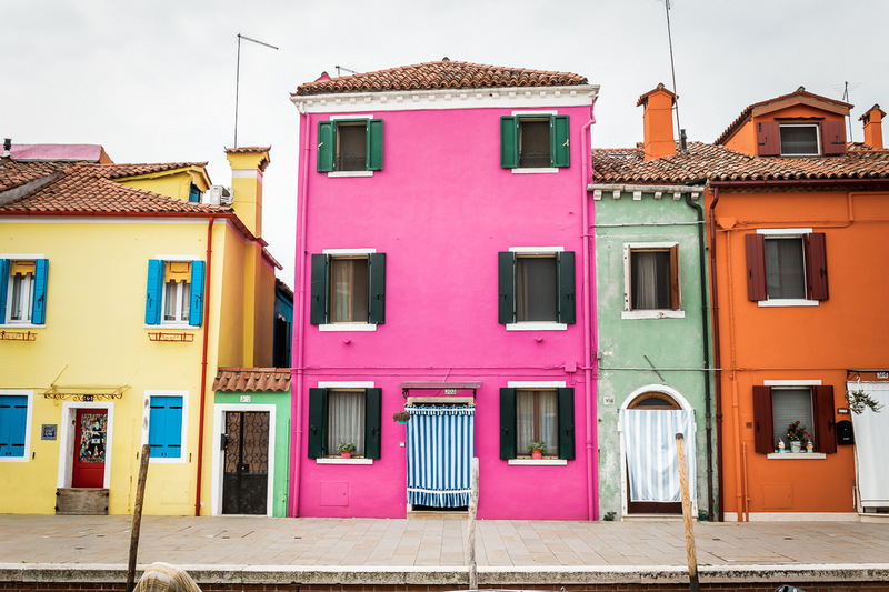 Burano, bunte Insel, Venedig, Venezia