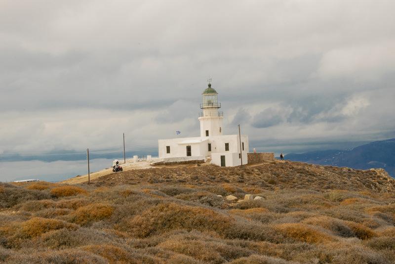Leuchtturm, Mykonos, Griechenland, Kykladen