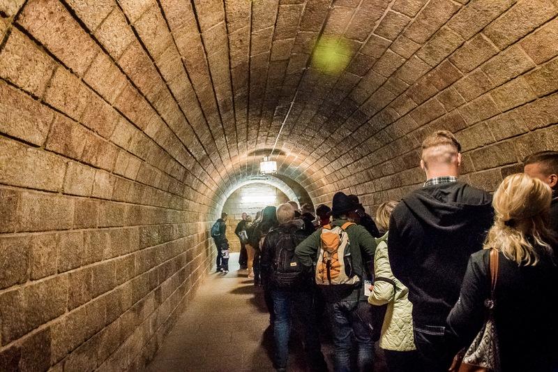 Tunnel, Goldener Aufzug, Adolf Hitler, Berchtesgaden, Bayern, Deutschland