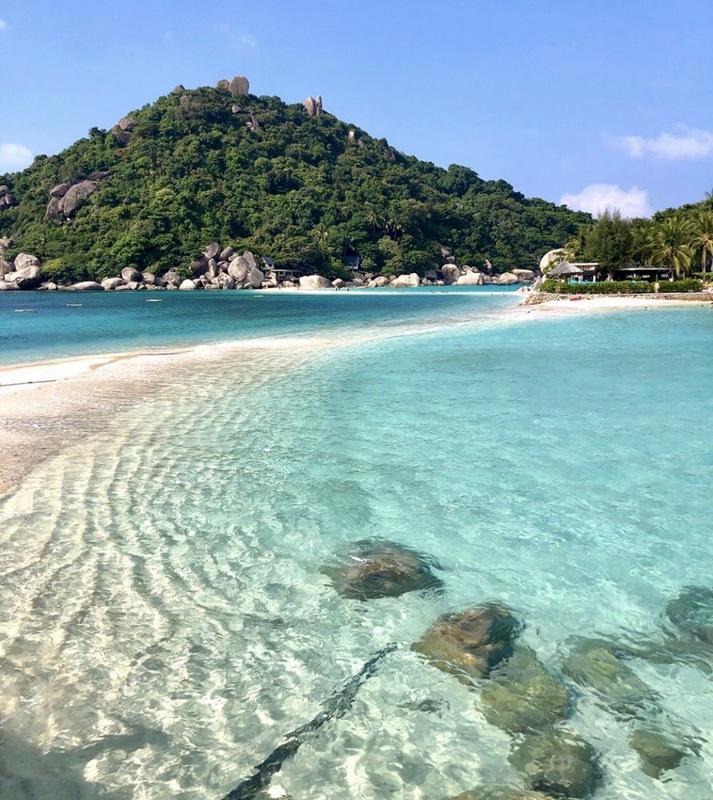 Koh Nang Yuan, Thailand, Insel, Sehenswürdigkeit
