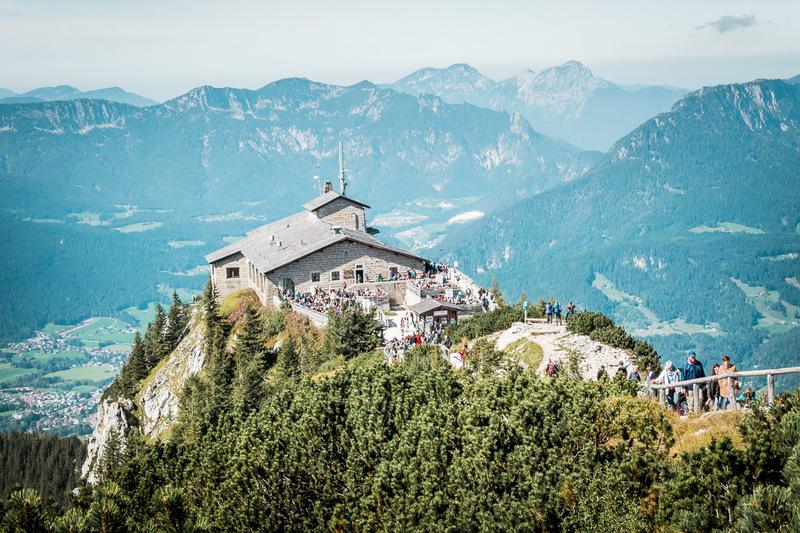 Kehlsteinhaus in Berchtesgaden, Berchtesgadener Land, Deutschland, Hitler, Adolf Hitler