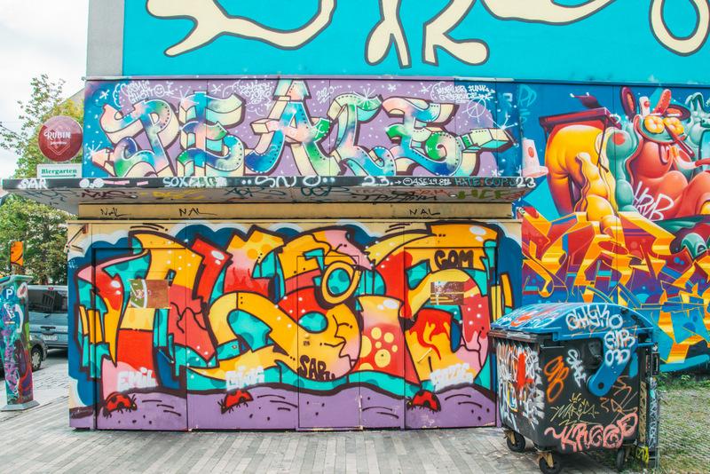 Grafitti, Dresden, Neustadt, Deutschland