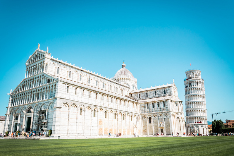 Turm, Pisa, Toskana, Italien,