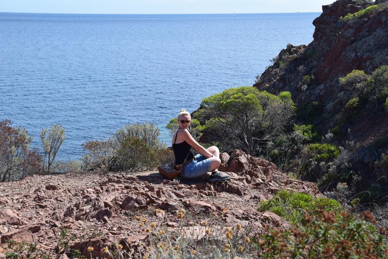 Küstenwanderpfad, Cap du Dramont, Cote D Azur, Südfrankreich