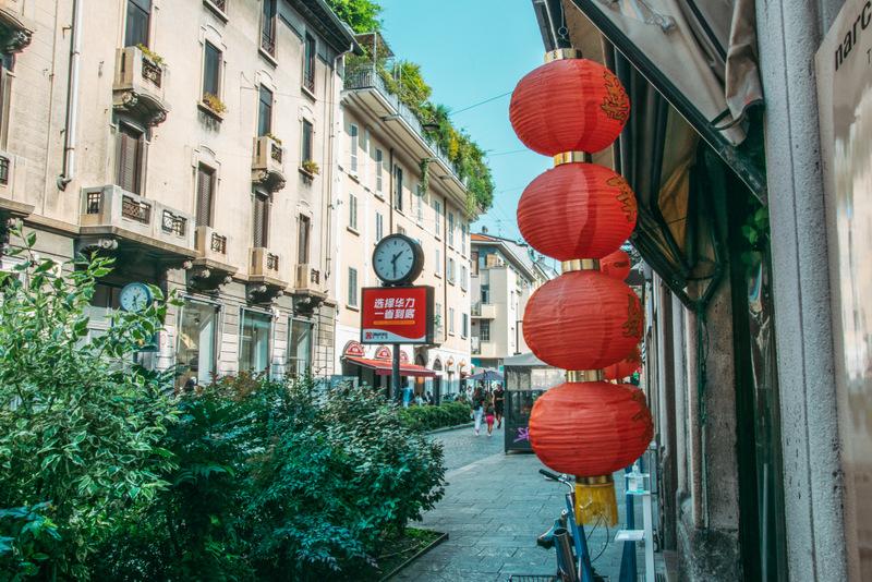 Chinatown, Mailand, Milano