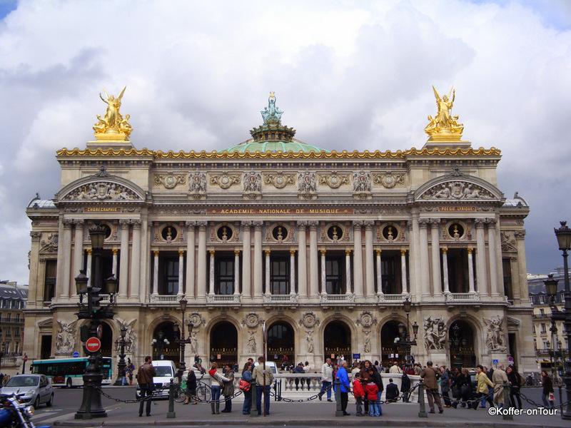 Oper Garnier, Paris, Frankreich