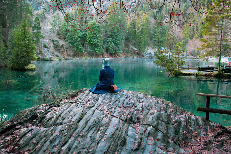 Blausee, Schweiz, Kandertal, Kandersteg, Naturpark