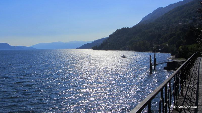 Mit dem Boot von Cannobio nach Luino zum Markt