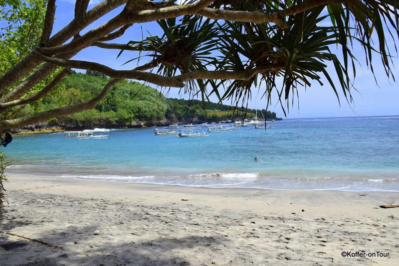Crystal Beach, Nusa Penida, Strand, Bali, Sehenswürdigkeit