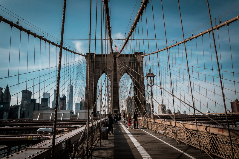 Brooklyn Bridge, New York, Manhattan