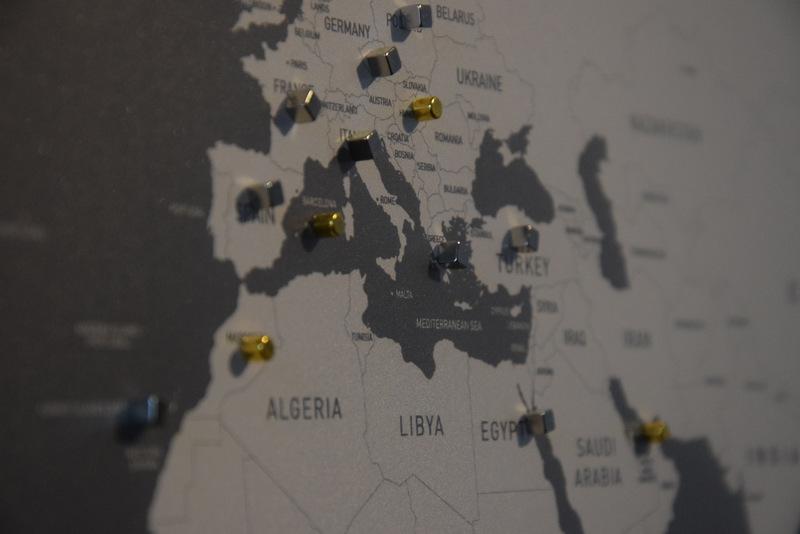 Weltkarte, Vacentures, Reiseplanung, Reisen, Urlaub