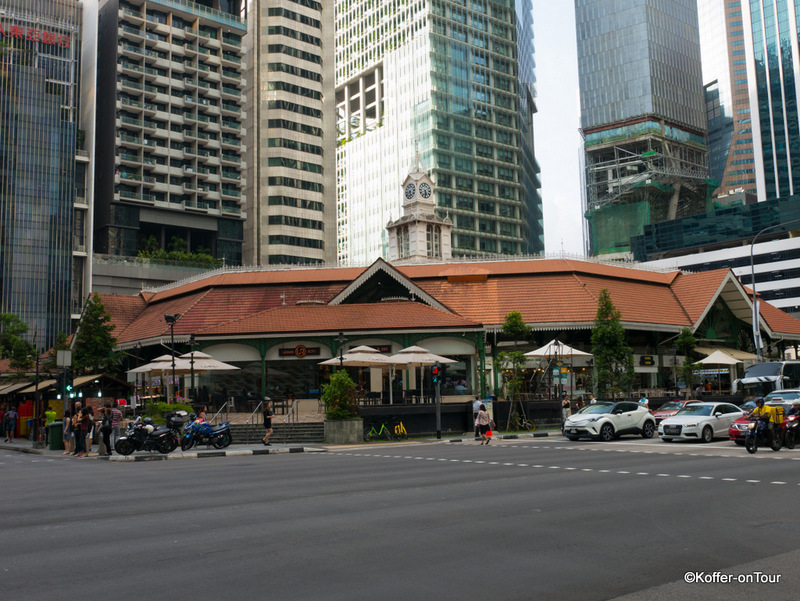 Lau Pa Sat Hawker Center, Singapur