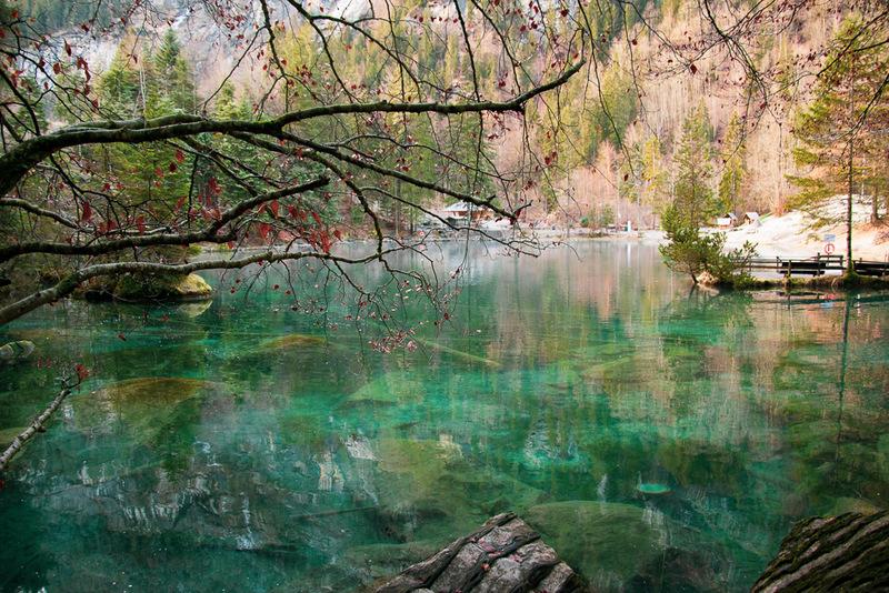 Blausee, Schweiz, Berner Oberland, Naturpark