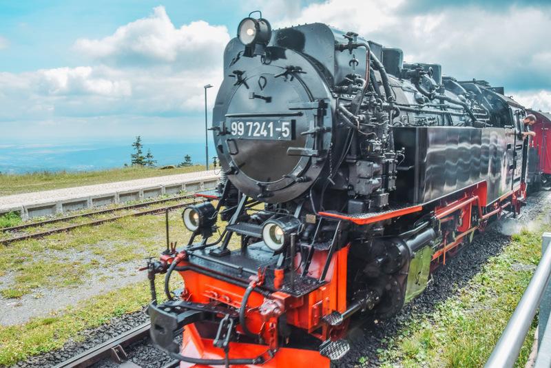 Brockenbahn, Harz, Deutschland, Historische Bahn, Zug, Urlaub in Deutschland, Ferien in Deutschland, Niedersachsen, Sachsen Anhalt