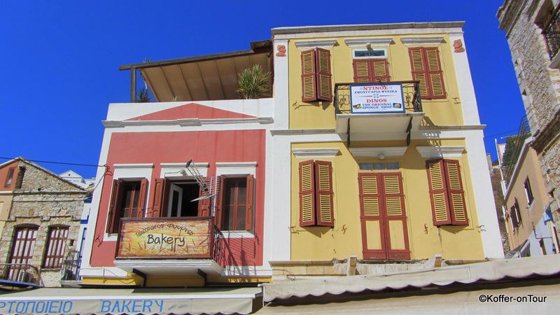 Herrenhäuser auf Symi, Griechenland, Ägäis