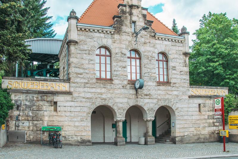 Schwebebahn, Dresden, Deutschland, Reisen, Urlaub,