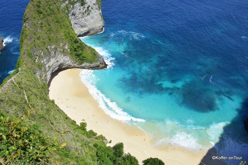 Kelingking Beach, Nusa Penida, Bali, Sehenswürdigkeit