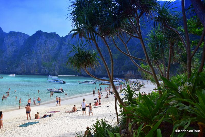Koh Phi Phi, Strand, Palmen, The Beach, Leonardo DiCaprio, Traum