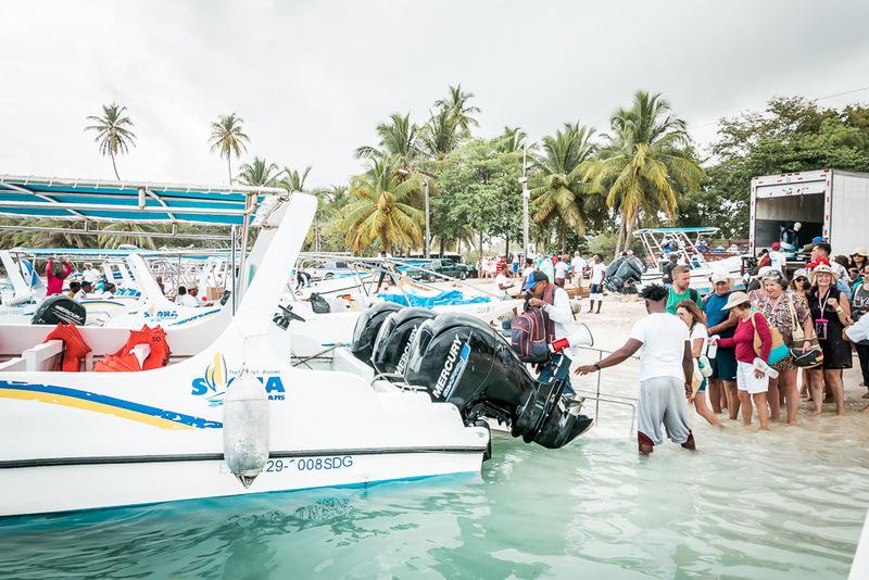 Hafen, Bayahibe, Ausflug, Isla Saona, Dominikanische Republik
