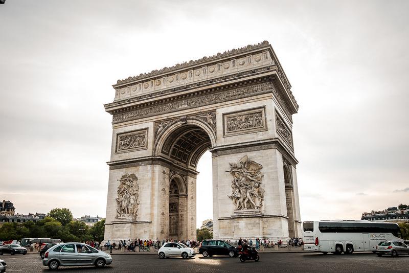 Triumph Bogen, Paris, Frankreich, Beste Aussicht