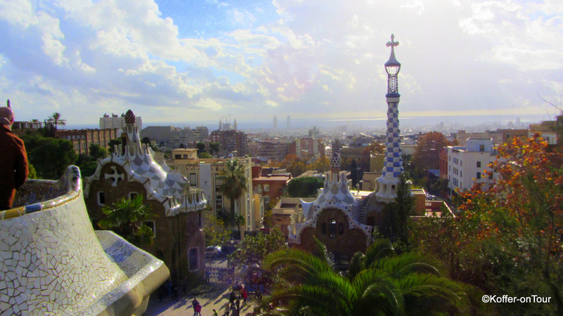 Barcelona, Städtetrip, Park Güell, Gaudi