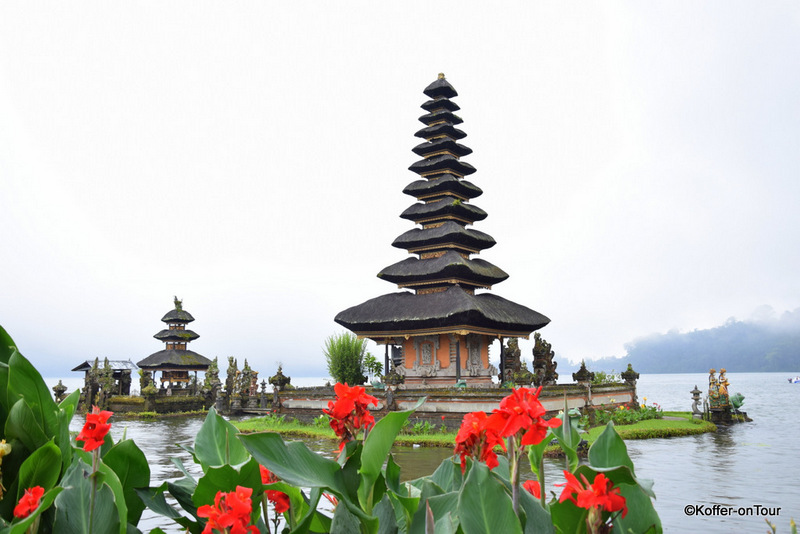 Pura Ulun Bratan Tempel, Bali, Wassertempel