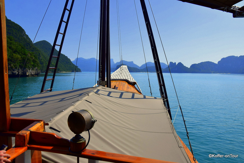 Piratenschiff, Naga, Baidee, Ausflug, Marine Nationalpark, Koh Samui, Thailand