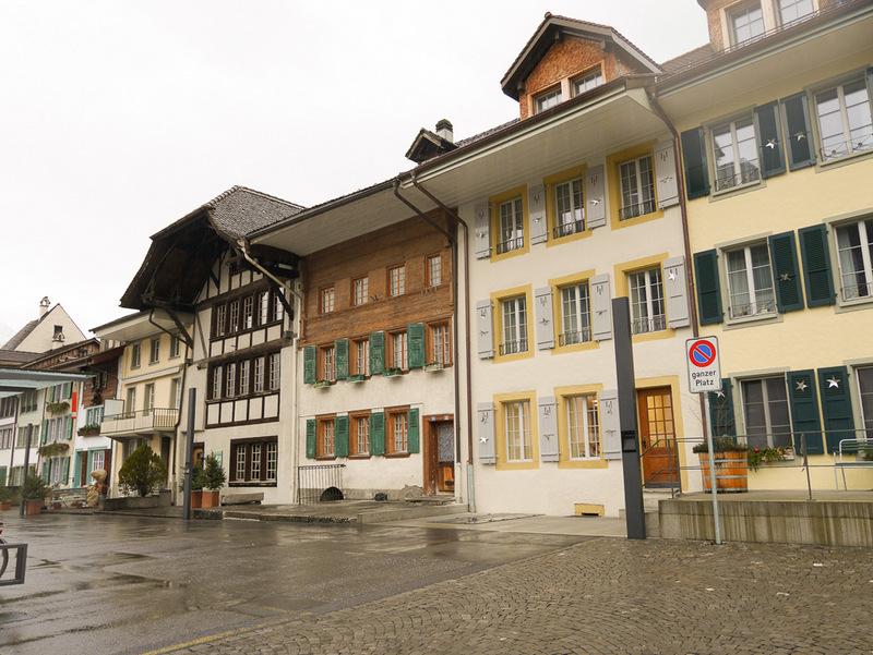 Altstadt Interlaken, Schweiz