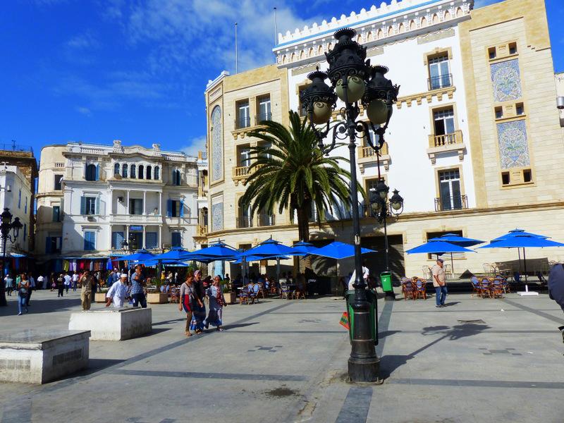Tunis, zentrum, Tunesien, Hammamet