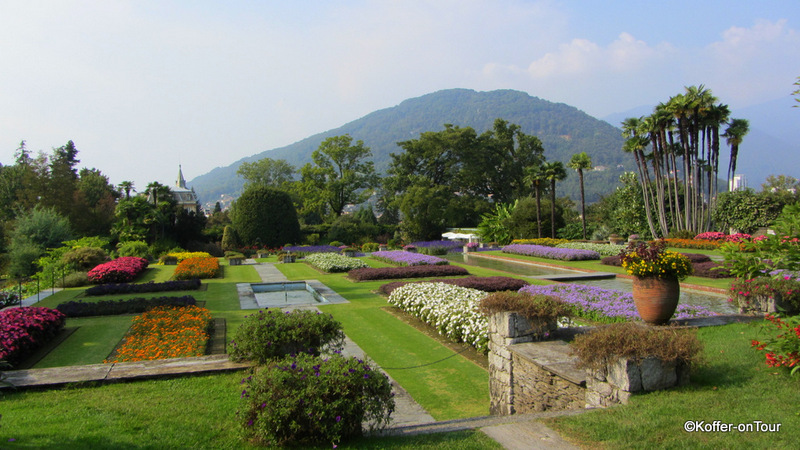 Terrassengarten im Botanischen Garten