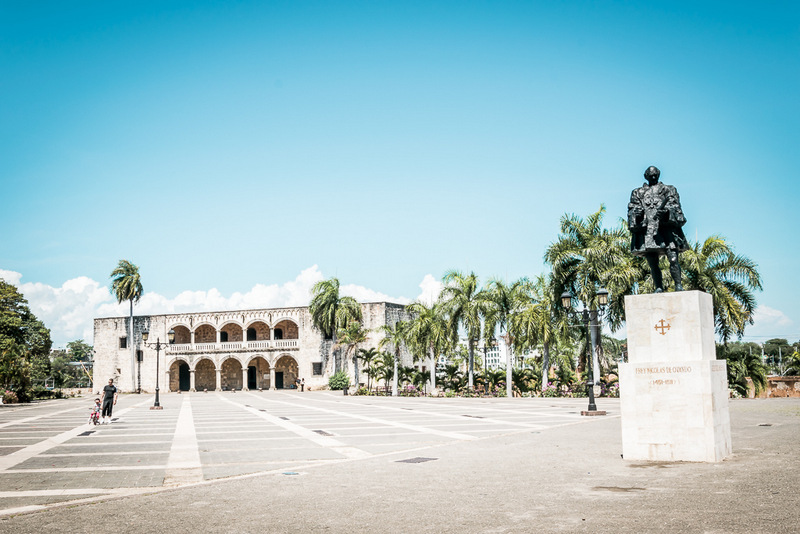 Santo Domingo, Dominikanische Republik, Karibik, Alcazar de Colon