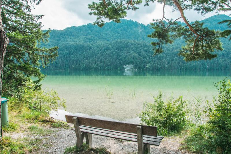 Weißensee, Allgäu, Deutschland, Reisen, Urlaub