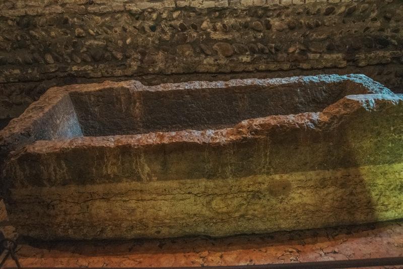 Tomba di Giulietta, Grab von Julia, Verona, Italien, Romeo und Julia