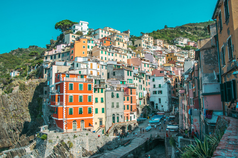 Riomaggiore, Cinque Terre, 5 Dörfer, Italien