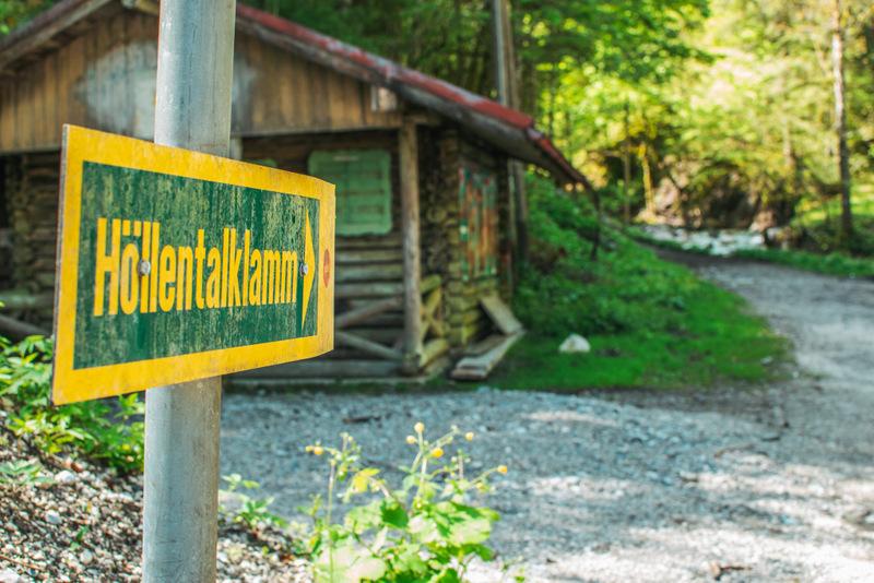 Höllentalklamm, Grainau, Klamm, Wanderung, Deutschland