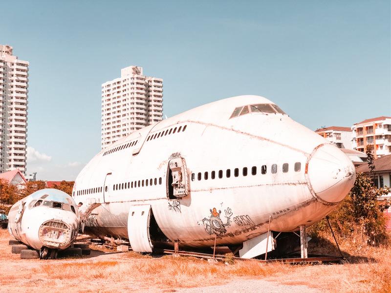 Bangkok, Thailand, Sehenswürdigkeit, Airplane