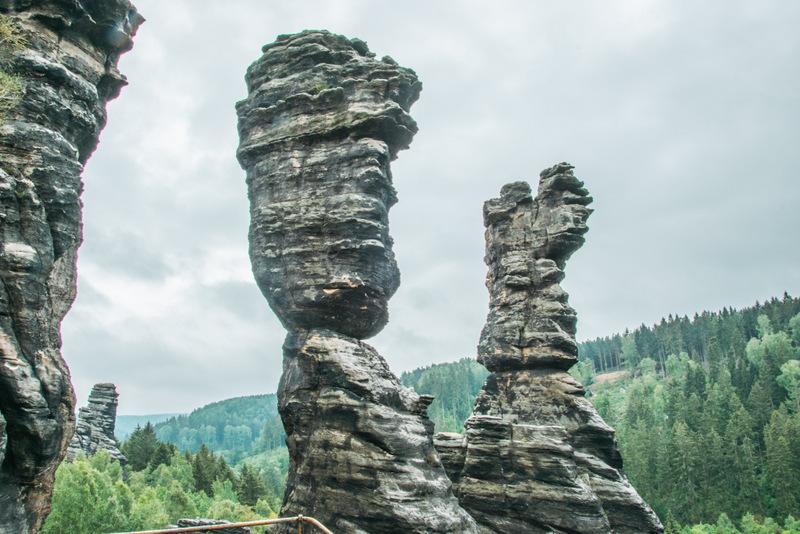 Herkulessäulen, Sächsische Schweiz, Elbsandsteingebirge, Elbsandstein