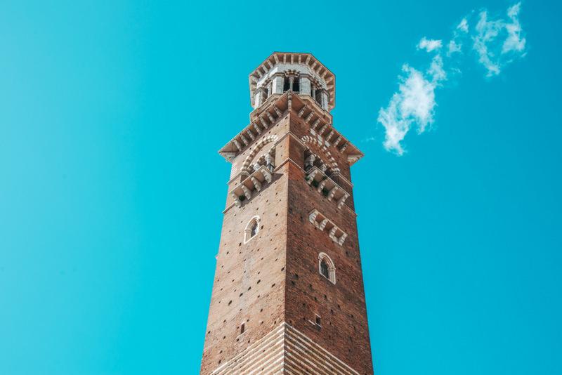 Torre dei Lamberti, Turm in Verona, Turm, Italien