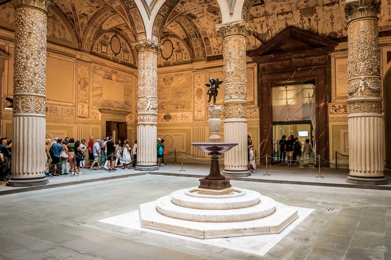 Palazzo Vecchio, Turm, Florenz, Toskana, Aussicht, Aussichtsplattform
