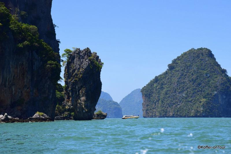 James Bond Insel, Khao Phing Kan, Khao Ta-Pu, Thailand, Urlaub